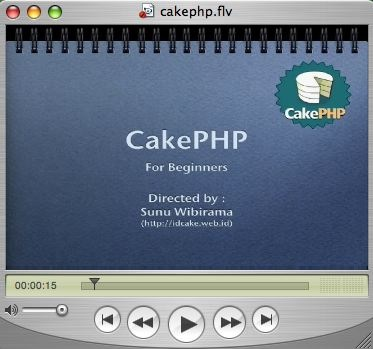 CakePHP video